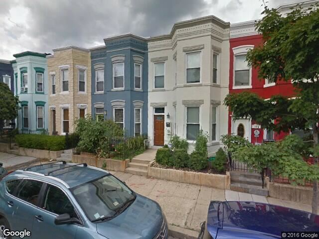 Image of 1300 Block of Emerald Street courtesy of Google.com