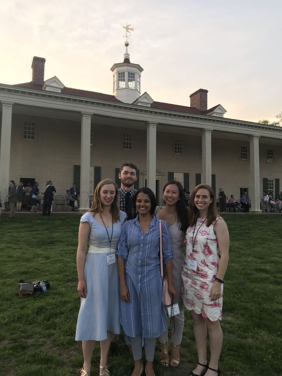 Clemson-College of Charleston VAF Ambassadors at Mt. Vernon